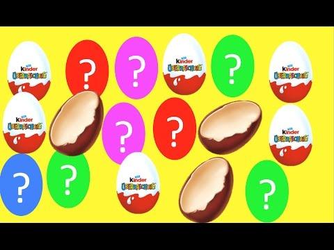 40 German Surprise Eggs Kinder Surprise, Disney, Transformers, Mickey Mouse