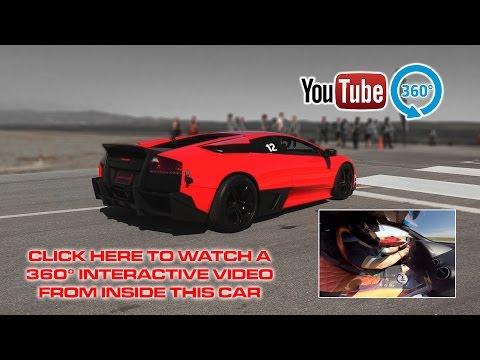 Lamborghini Murcielago LP640 vs Ferrari 458  | 360° Racing Video
