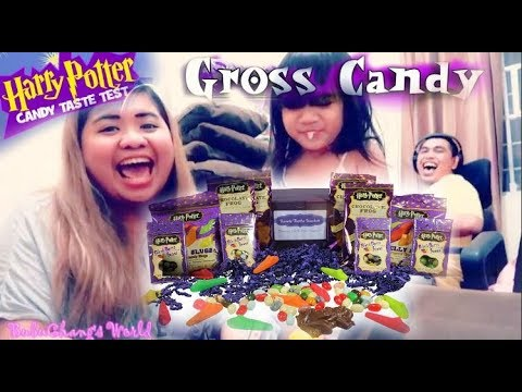 TRYING HARRY POTTER CANDY + Bean Boozled Challenge and A LOT MORE FUN STUFF!!!!