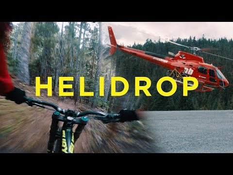 Whistler Heli Biking with Pro Freeriders and Snowboarders