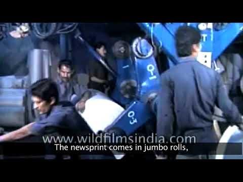 Newspaper Printing Press in India