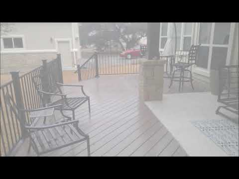 Liberty Hills TX Backyard Makeover by Archadeck of Austin