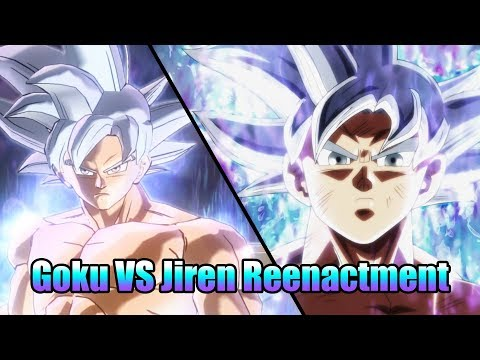 Goku VS Jiren 2!! Reenactment!! | Dragon Ball Xenoverse 2