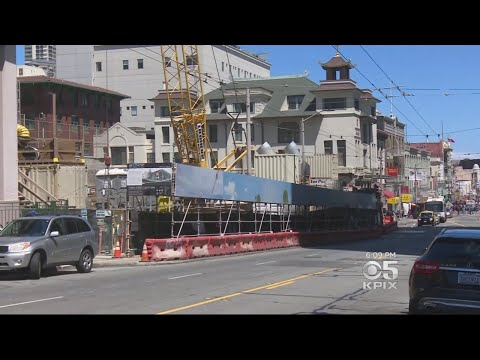 San Francisco's Central Subway Construction Falls Behind Schedule