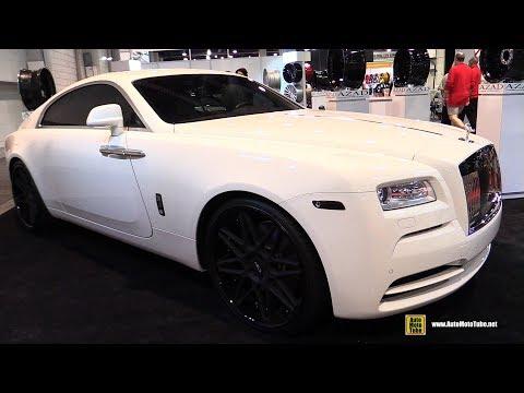 2017 Rolls Royce Wraith with Azad Wheels - Exterior Walkaround - 2017 SEMA Las Vegas