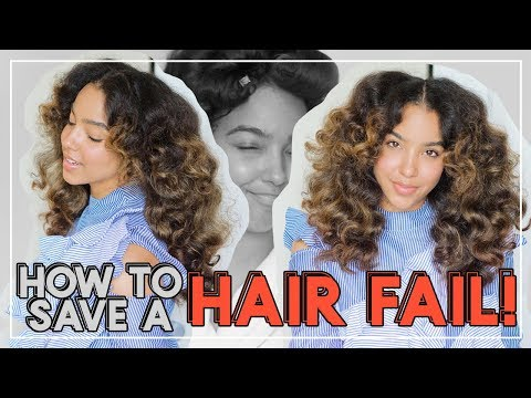 How to SAVE a FAILED Hairstyle