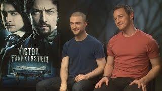 Victor Frankenstein: Daniel Radcliffe wanted to bathe in James McAvoy's spit