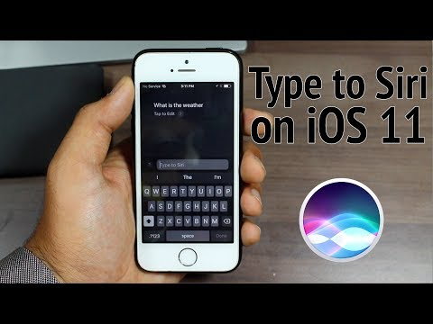 "Enable ""Type to Siri"" in iOS 11 on iPhone and iPad - How to?"