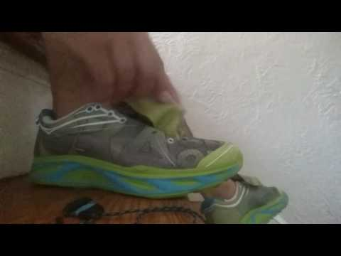 Hoka Huaka Lace Cut and Trample In Nike Air Jordan Shoes!