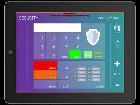 IRIDIUM 7EVEN Tablet Control iPad Universal Remote Home Automation