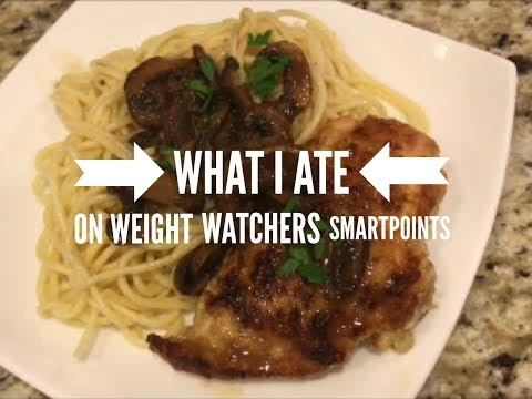 What I Ate on Weight Watchers Smart Points Program
