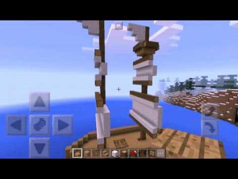 Pirate Ship | Minecraft PE