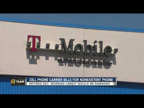 Cell phone carrier bills for nonexistent phone