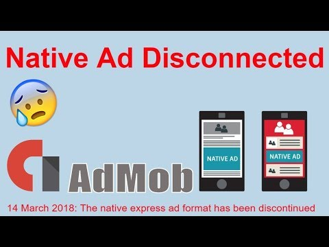 Native express ad units can no longer be created in AdMob || Admob new update