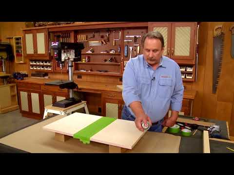 How To: Drill Press Table - Replaceable Insert