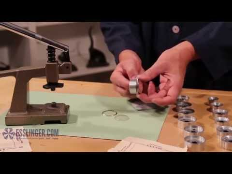 How to Press Bezel Fit Watch Crystals with a Watch Crystal Press