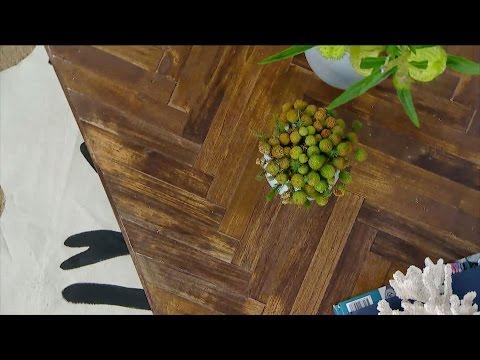 Stunning DIY Herringbone Table | Steven & Chris | CBC