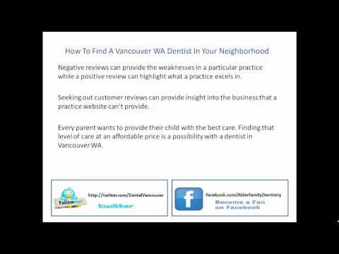 How To Find A Vancouver WA Dentist In Your Neighborhood