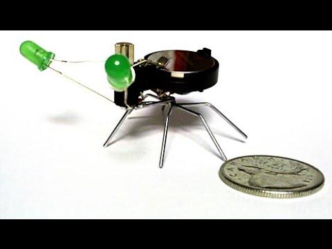 How to make a mini bug robot?