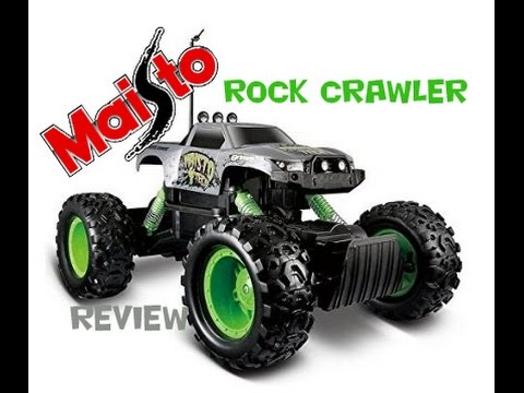 ROCK CRAWLER by MAISTO Review