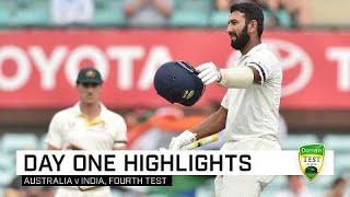 Pujara century puts India in box seat | Fourth Domain Test