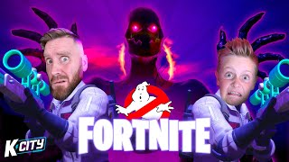 We are FORTNITE GHOSTBUSTERS!! (Halloween Edition) K-CITY GAMING