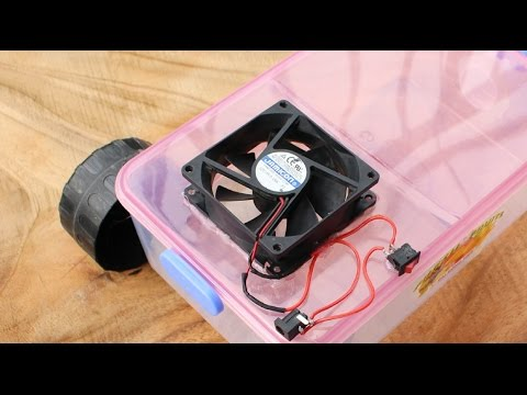 How to Make a Vacuum Cleaner at home   Very Simple