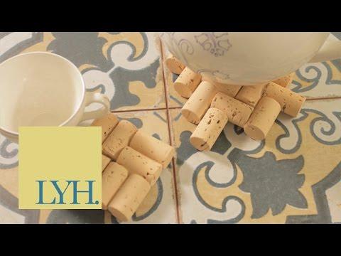 Cork Coasters   Made At Home S03E1/8