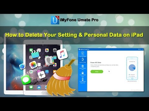 How to Delete Your Setting & Personal Data on iPad