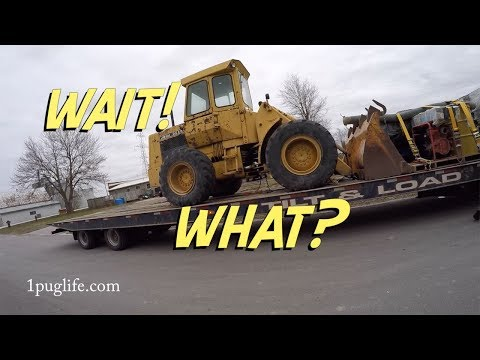 my new john deere 544 wheel loader