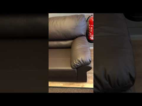 Candy Faux Leather Sofa