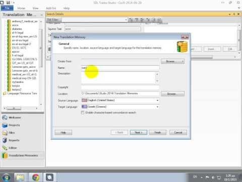 Create tmx from Excel online with Translatum's converter