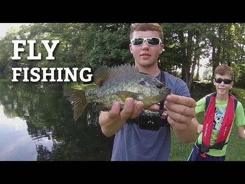 Fly Fishing for Bluegill in Ponds