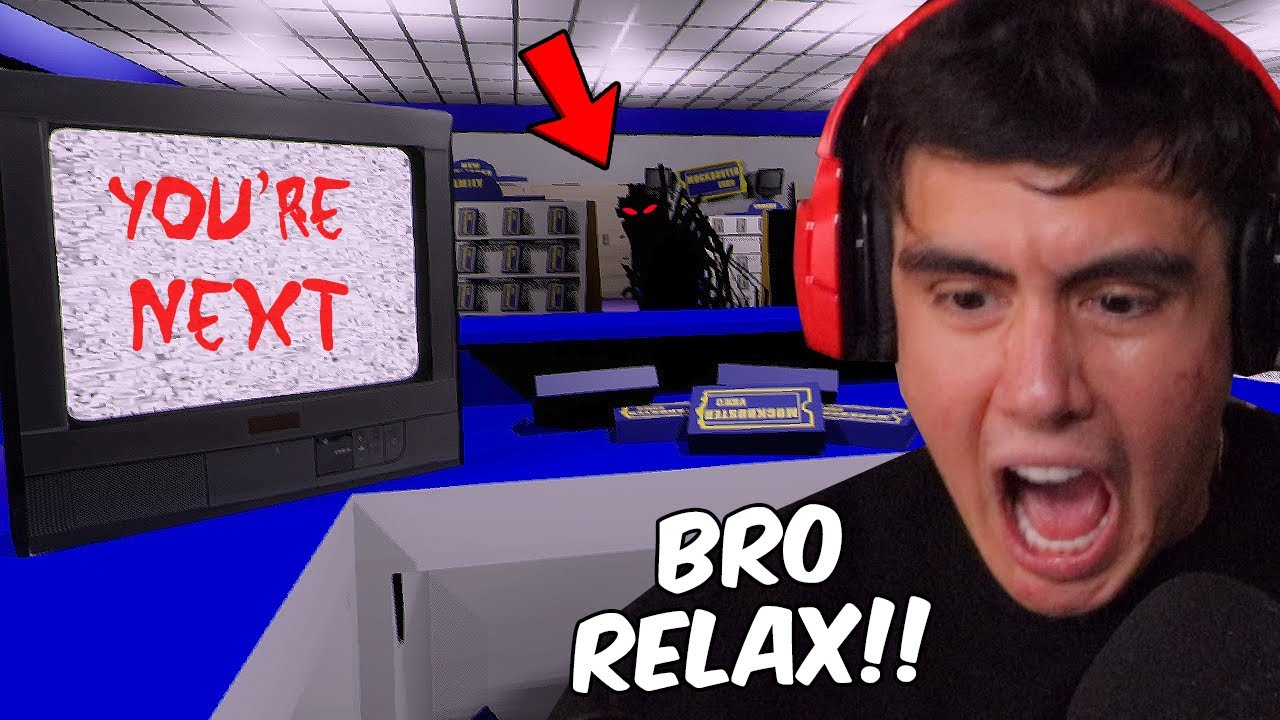 IT'S MY LAST DAY WORKING AT BLOCKBUSTER AND SOMEONE DOESNT WANT ME TO EVER LEAVE | Free Random Games