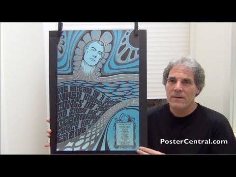 Wes Wilson 1966 San Francisco Psychedelic Posters – But Not for Concerts
