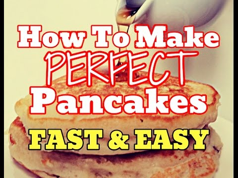 [NEW] How To Make Perfect Pancakes Quick - Cook Fluffy Pancakes Easy Recipe [HD]