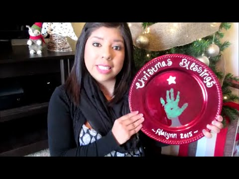Christmas Plate Keepsake Collab