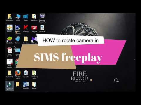 How To Rotate Camera and Zooming in SIMS Freeplay in BLUESTACKS