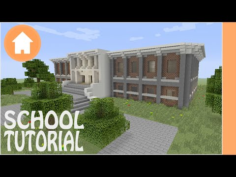 Minecraft Tutorial: School Tutorial #1 Minecraft Xbox/Playstation/PE/PC/Wii U