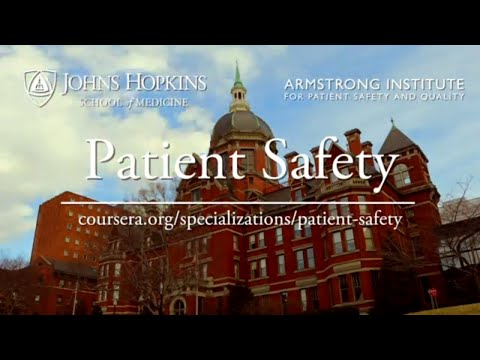 Patient Safety Coursera Specialization