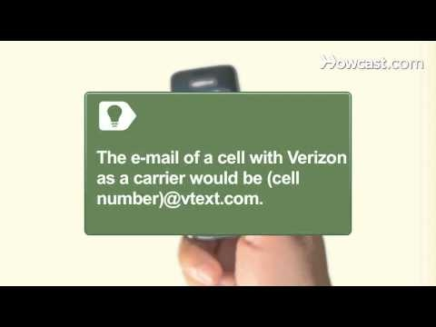 How to Send E-mail to a Cellphone