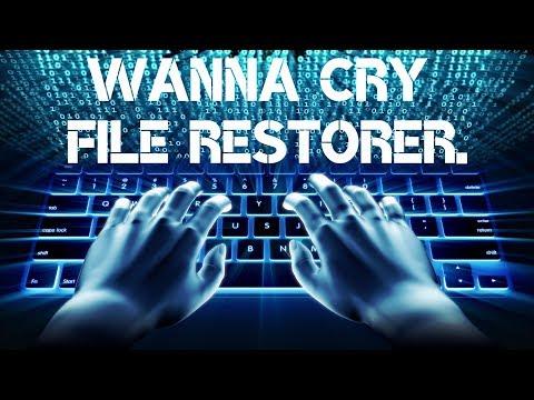 Wanna Cry File Restorer.