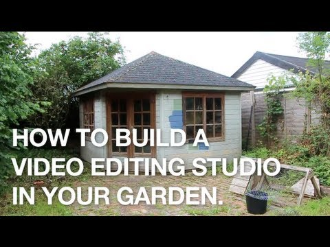 How to Build a Video Editing Studio in Your Garden