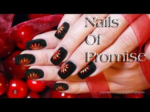 Easy Beginners Live Nail Art Tutorial Step By Step. Nails Of Promise.