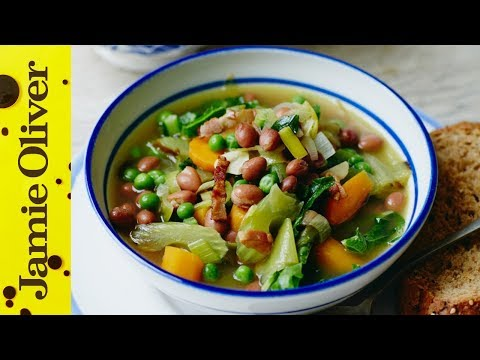 Chunky Vegetable Soup | Jools Oliver | #TBT