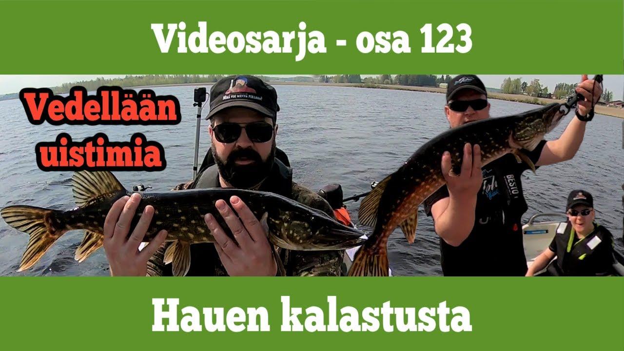 Osa 123 - Hauen kalastusta vetouistelemalla - kausi 2020/2021
