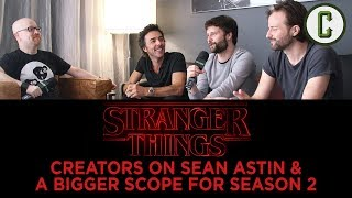 Stranger Things Season 2 Creators on Sean Astin and a Bigger Scope