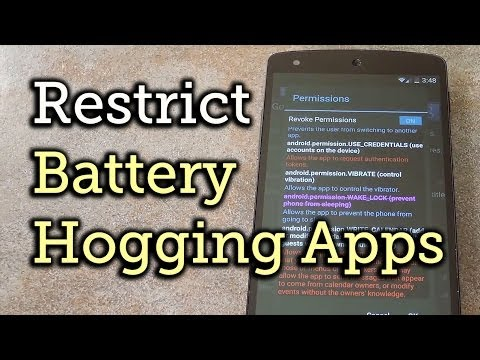 Find Out Which Apps Are Draining Your Battery & Stop Them - Android [How-To]