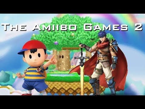 The Amiibo Games 2 - Round 3 Set 2   14/M/Onett (Ness) vs. Ike Cream (Ike)