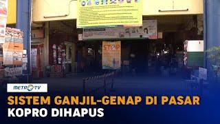 Sistem Ganjil-Genap di Pasar Kopro Dihapus